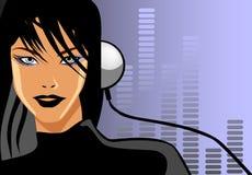 De Liefde van de muziek Royalty-vrije Illustratie