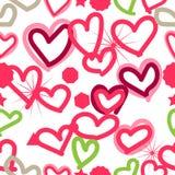 de liefde van de patroonliefde Royalty-vrije Stock Afbeelding