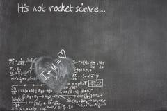 De liefde van de raketwetenschap Royalty-vrije Stock Afbeelding