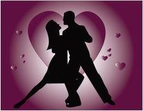 De liefde van de tango Stock Afbeelding