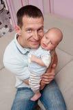 De liefde van de vader. Stock Foto