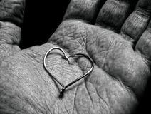 De liefde van de visser royalty-vrije stock foto
