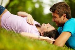 De liefde van de zomer Royalty-vrije Stock Foto