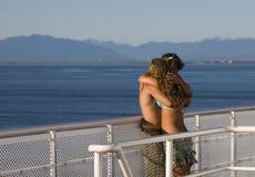 De Liefde van de zomer Stock Foto