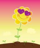 De liefde van de zomer royalty-vrije illustratie