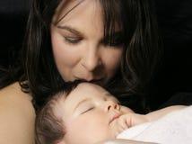 De liefde van een moeder royalty-vrije stock foto's