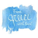 De liefde van Griekenland Stock Afbeelding