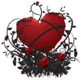De liefde van Grunge stock illustratie