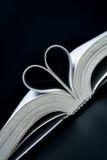 De liefde van het boek Stock Afbeelding