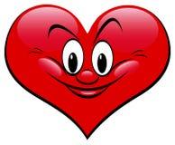 De liefde van het hart Stock Fotografie