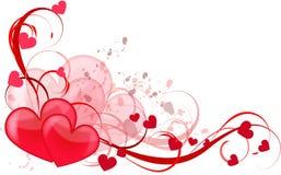 De liefde van het hart royalty-vrije illustratie