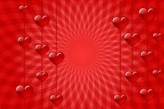 De liefde van het hart vector illustratie