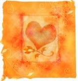 De liefde van het hart Stock Afbeelding