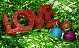 De Liefde van Kerstmis Stock Afbeeldingen