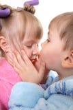 De liefde van kinderen stock afbeelding