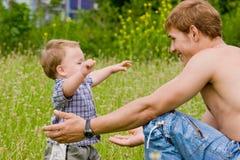 De liefde van ouders Royalty-vrije Stock Afbeeldingen