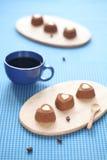 De Liefjes van de chocoladekoffie Stock Foto's