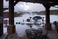 De lift van de de toevluchtstoel van de ski Royalty-vrije Stock Afbeeldingen