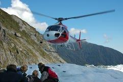 De lift van de helikopter Stock Foto