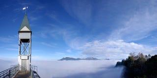 De Lift van Hammetschwand stock afbeeldingen