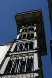 De lift van Justa van de kerstman Stock Fotografie
