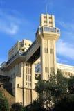 De Lift van Lacerda, Salvador - Bahia, Brazilië. Royalty-vrije Stock Foto