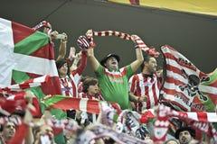 De Liga Definitief Boekarest 2012 van UEFA Europa Stock Afbeelding