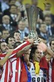 De Liga Definitief Boekarest 2012 van UEFA Europa Stock Fotografie