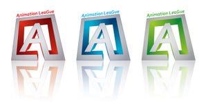 De liga van de animatie Stock Foto's