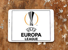 De ligaembleem van UEFA europa Royalty-vrije Stock Foto