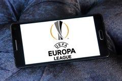 De ligaembleem van UEFA europa Stock Afbeeldingen