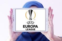 De ligaembleem van UEFA europa Stock Fotografie