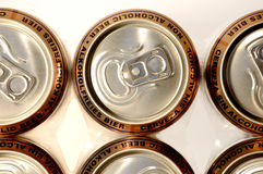 De ligne d'aluminium alcoho d'or non Image stock