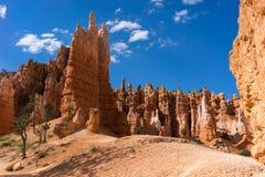 De Lijn Bryce Canyon National Park Utah de V.S. van Navajo Royalty-vrije Stock Afbeeldingen