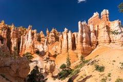 De Lijn Bryce Canyon National Park Utah de V.S. van Navajo Stock Fotografie