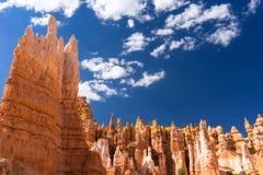 De Lijn Bryce Canyon National Park Utah de V.S. van Navajo Royalty-vrije Stock Afbeelding