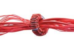 De lijn en de rol van de kabel Royalty-vrije Stock Foto