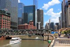 De Lijn van Chicago Royalty-vrije Stock Foto's