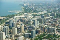 De Lijn van Chicago Stock Foto's