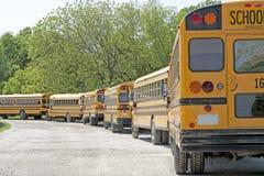 De Lijn van de bus Stock Foto's