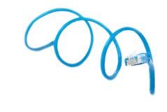 De lijn van de kabel met schakelaar Stock Foto