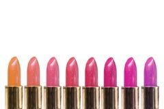 De lijn van de lippenstift Stock Fotografie