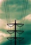 De lijn van de macht Stock Afbeelding