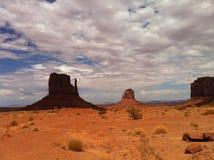 De lijn van de Staat van Arizona/van Utah royalty-vrije stock foto