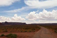 De lijn van de Staat van Arizona/van Utah Royalty-vrije Stock Afbeelding