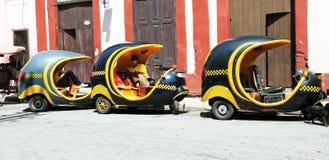 De Lijn van de Taxi van Coco royalty-vrije stock fotografie