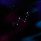 De lijn van het heelalsucces vector illustratie