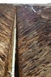 De Lijn van het riool stock afbeelding