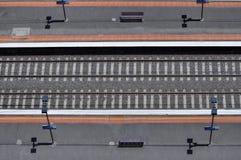 De lijn van het spoorwegspoor Royalty-vrije Stock Fotografie