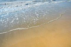 De lijn van het water stock foto